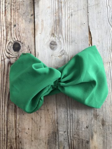 turbante-tela-hecho-a-mano-verde