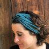 turbante-tela-hecho-a-mano-verde-esmeralda